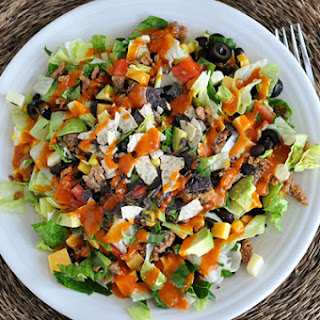 Taco Salad With Catalina Dressing And Corn Chips Recipes