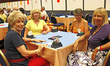 Photo: Dodo Geogevic, Norma Macmillan, Linda Gervis and Christine Dyer.
