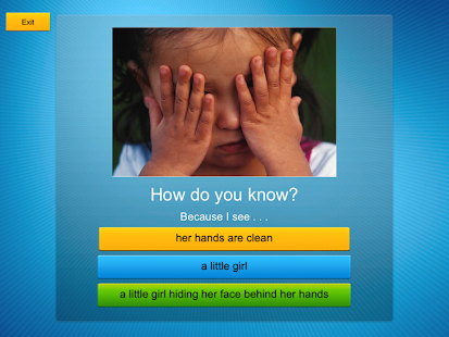 How Do You Know? app- screenshot thumbnail