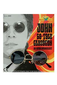 Lennon solglasögon, svarta