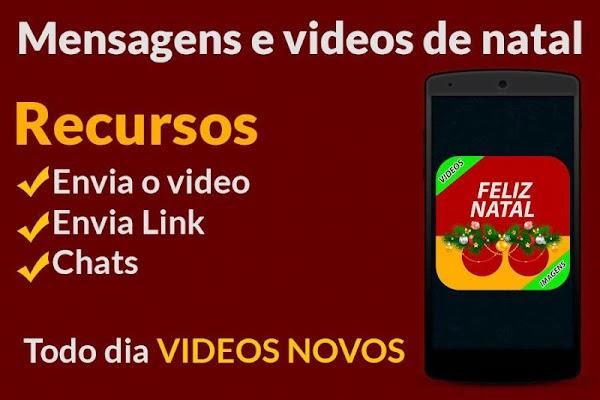 Mensagens e videos de natal - screenshot