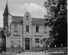 Photo: Sonneborn, die Gründungsgaststätte des ECD
