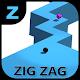 Infinite ZigZag Ball Survival
