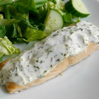 Creamy Tarragon Salmon