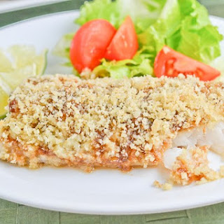 Wasabi Crusted Baked Fish Fillet Recipe