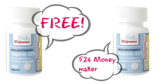 FREE Aspirin at Walgreens! ($1...
