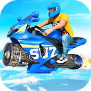 Jet Hover Bike Racing - Mega Ramp Racing Stunts