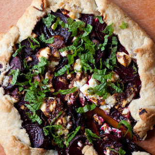 A Happy Hour Beet And Fig Tart