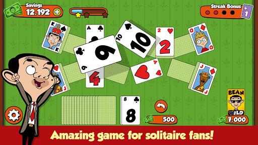 Mr Bean Solitaire Adventures - A Fun Card Game 1.1.9 screenshots 2