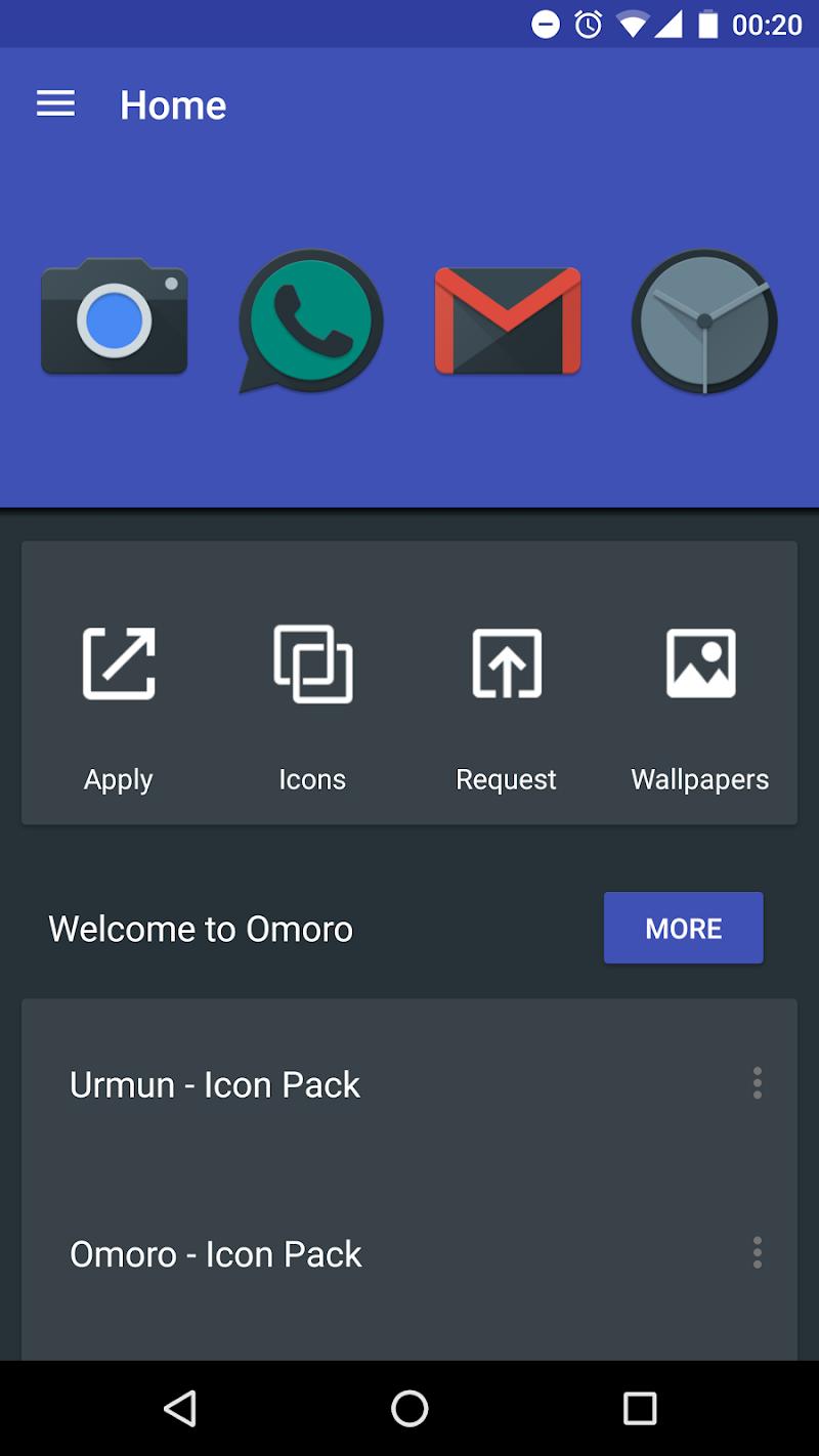 Omoro - Icon Pack Screenshot 5