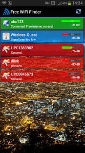 Free WiFi Internet Finder- screenshot thumbnail