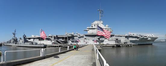 Photo: Yorktown served in WWII and Vietnam