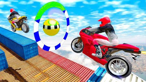 Impossible Bike Track Motor Racing 3D 1.0 screenshots 4