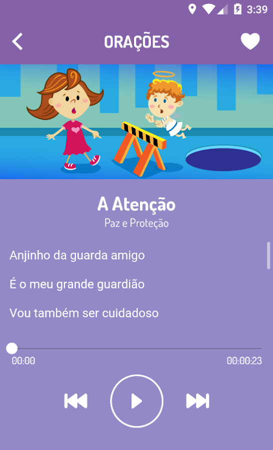 Orando Kids- screenshot