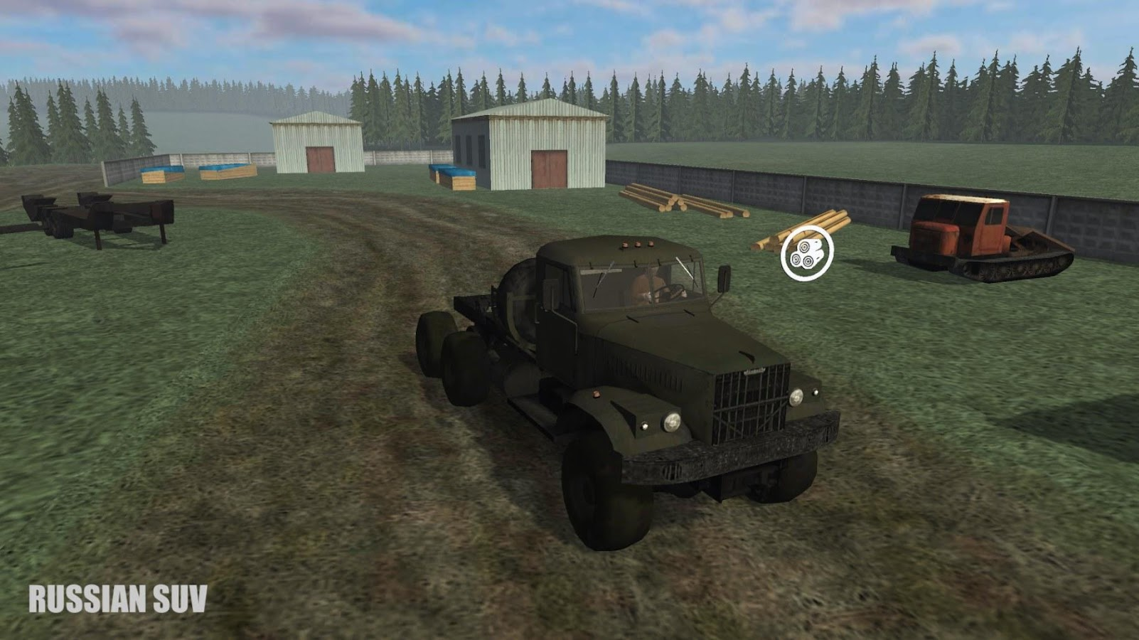 Russian SUV- screenshot