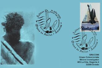 Photo: Matasellos de Primer día de Circulación del sello del Museo de las Anclas de Salinas en 2004