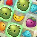 Monkey Fruits Crush icon