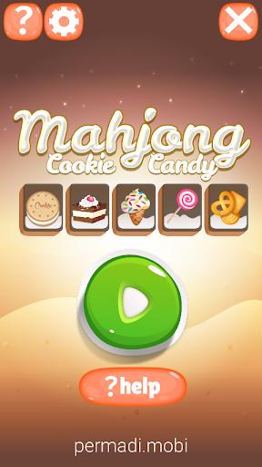 Mahjong Cookie & Candy - Free  screenshots 1