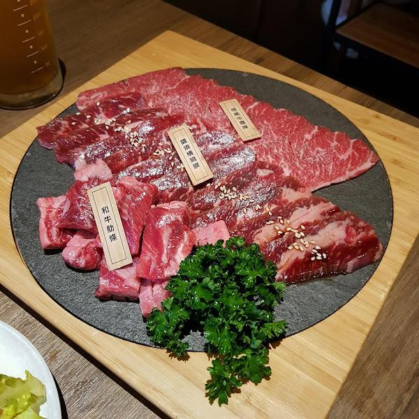 茶六燒肉堂。超人氣和風燒肉,大推夢幻的極黑和牛套餐❤❤❤