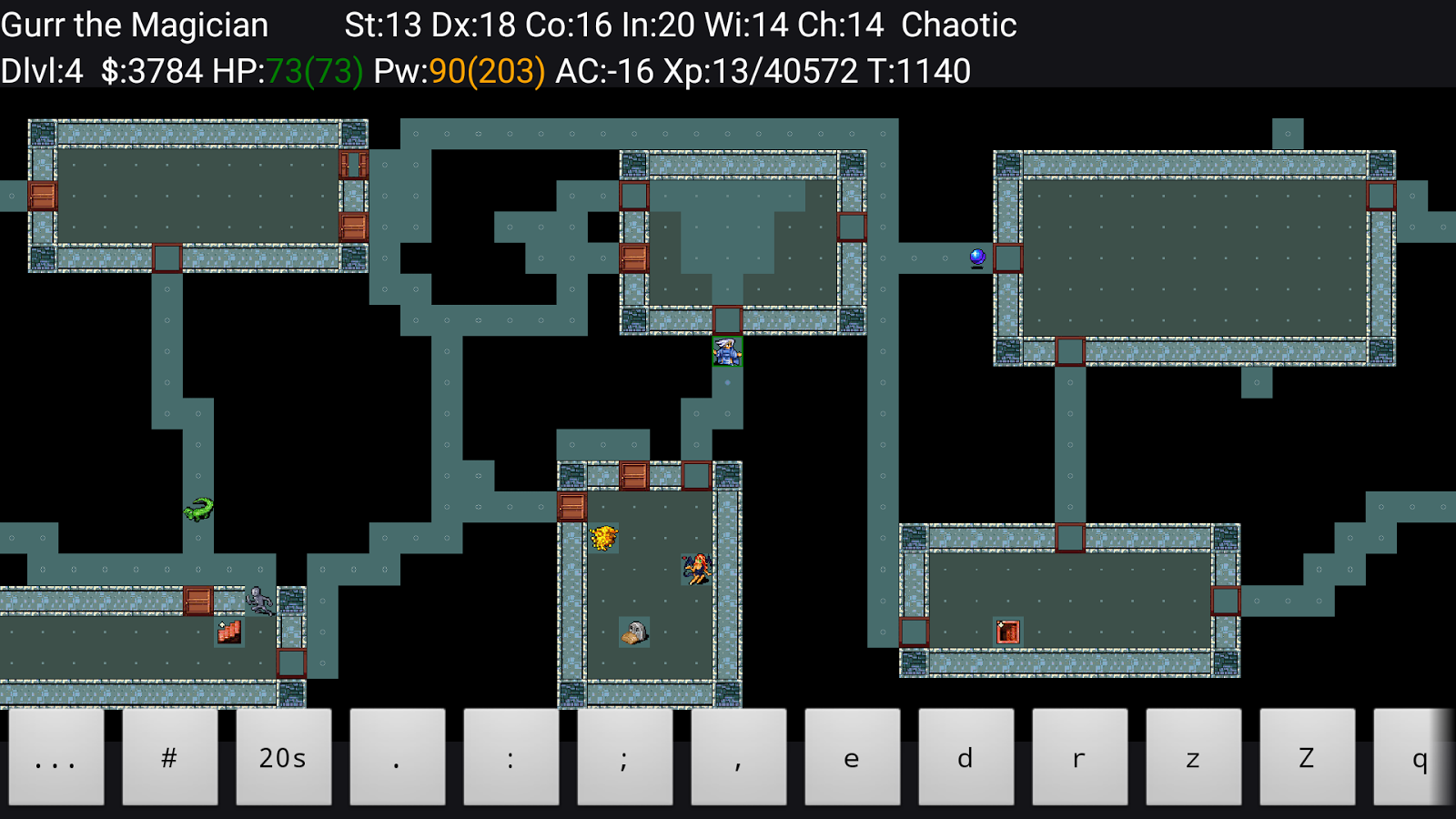 NetHack- screenshot