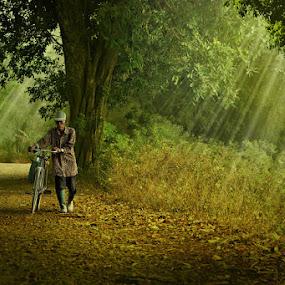 menyusuri jalan sunyi by Ipoenk Graphic - Digital Art People