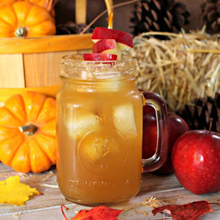 Spiked Apple Cider Mocktail