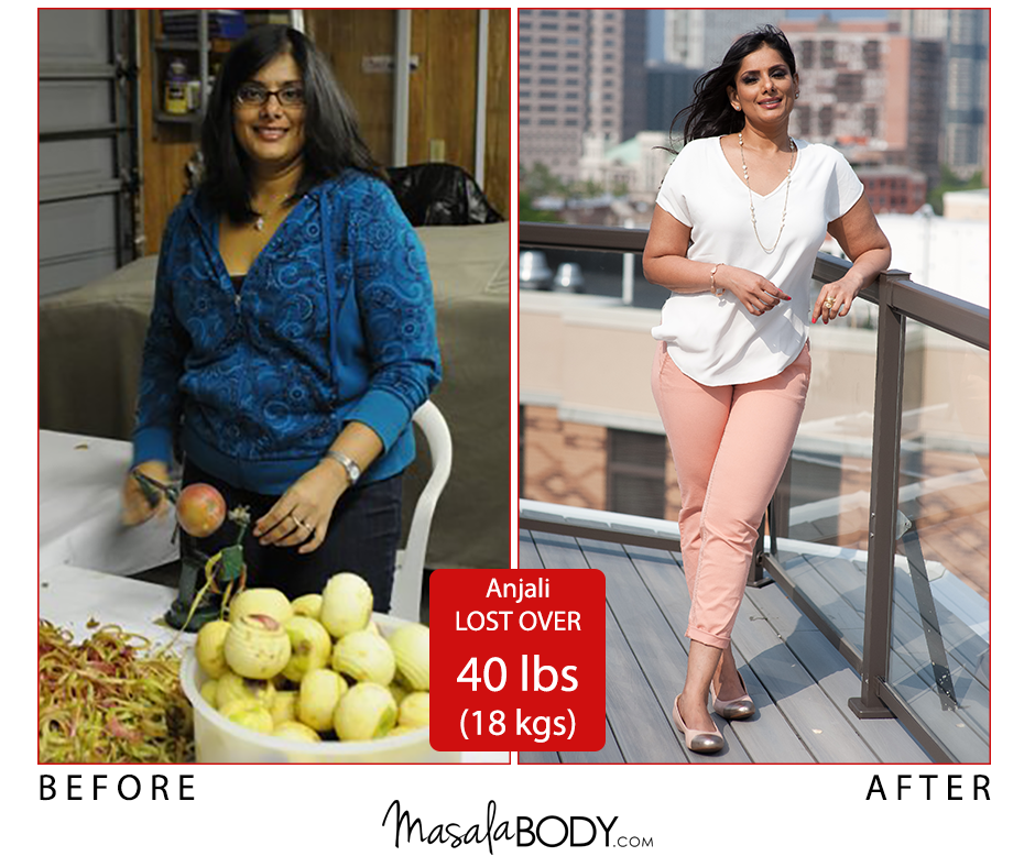 Success Stories - Anjali - Busy women lose weight