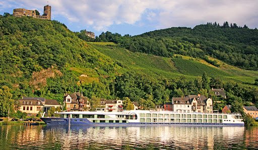 Avalon Affinity makes a port call along the Moselle River in Germany.