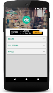 SQL Tutorial with Training 2.2 Download APK Mod 1