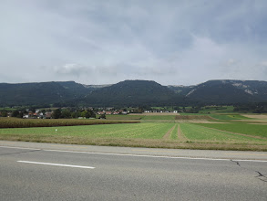 Photo: Gliders were seen soaring this ridge near Solothurn CH
