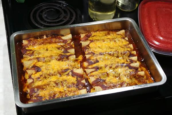 Lynn's Enchiladas With Homemade Sauce
