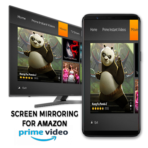Screen Stream Mirroring for Amazon Prime-Free – Apps on