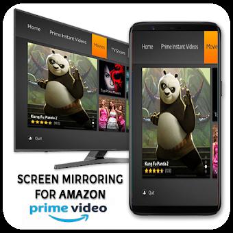 Screen Stream Mirroring for Amazon Prime-Free