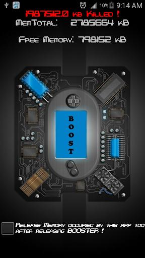 < 1 GB RAM Booster