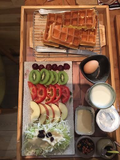 綜合水果三明治 , 好適合減肥的恩 💓    哈哈哈 開心😳