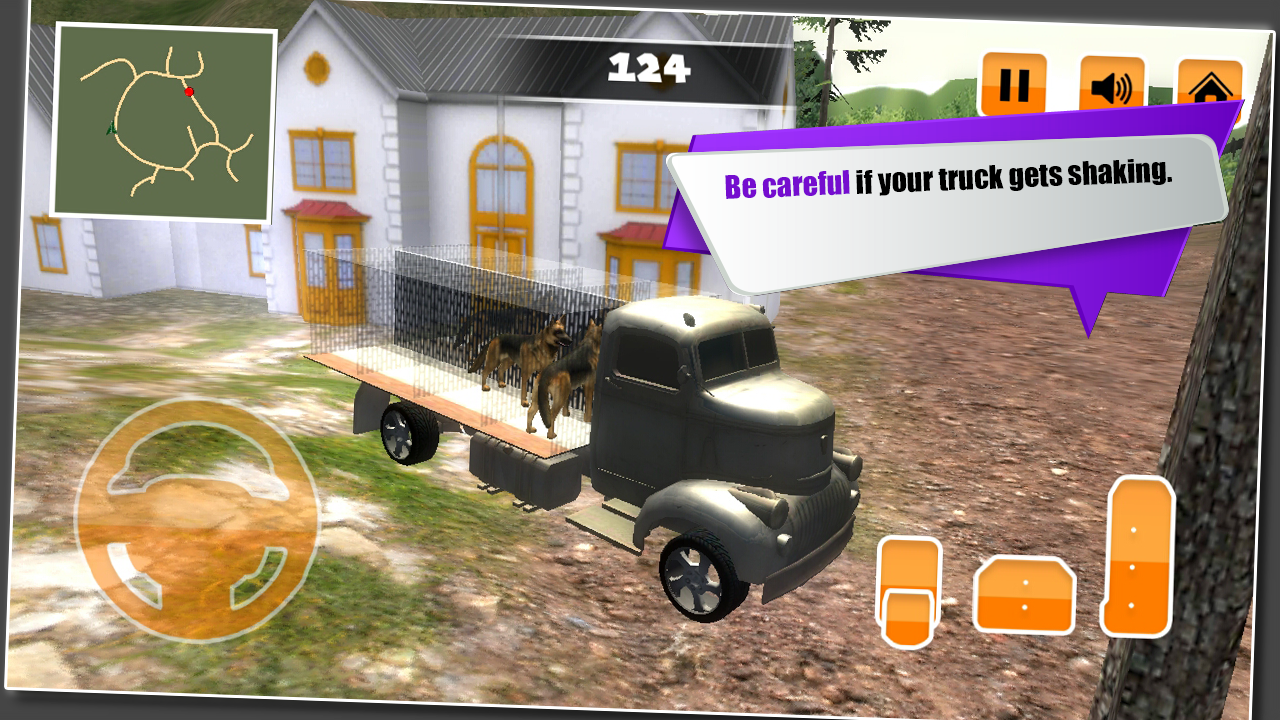 Dog Transporter Mountain Truck- screenshot