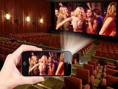 HD Video Projector Live Simulator screenshot
