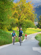 Photo: We started the holiday with cycling around Bled