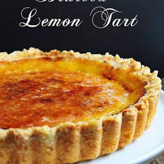 Bruleed Lemon Tart.