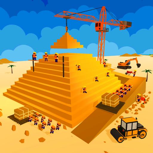 Egypt Pyramid Builder Games