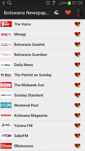 Botswana Newspapers And News