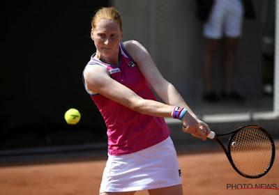 Alison Van Uytvanck n'a pas pu déjouer les pronostics au tournoi de Madrid