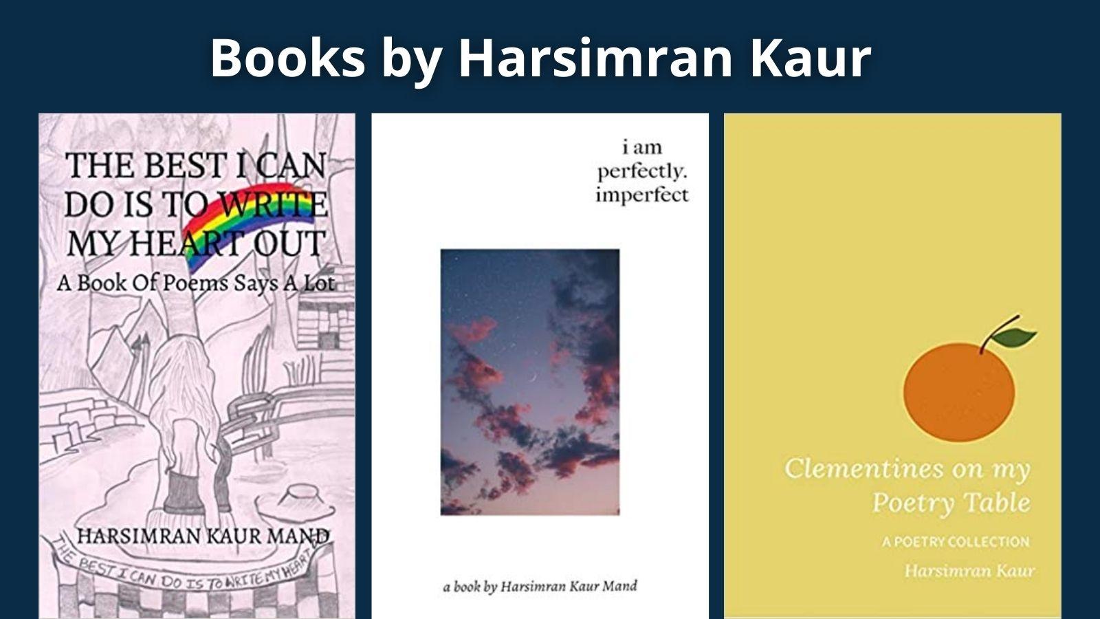 harsimran kaur books