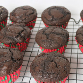 Ultimate Chocolate Chocolate Chip Muffins