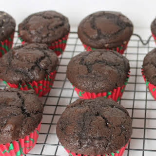 Ultimate Chocolate Chocolate Chip Muffins.