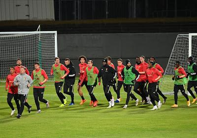 Diables Rouges : Roberto Martinez devra se passer de trois joueurs