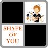 Shape of you piano tiles APK