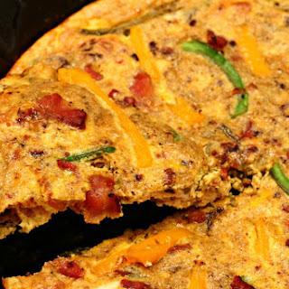 Southwest Bacon Frittata