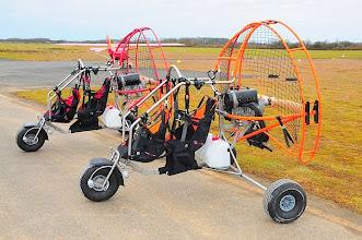 Photo: Chariot trike  Biplace modèle PHENIX