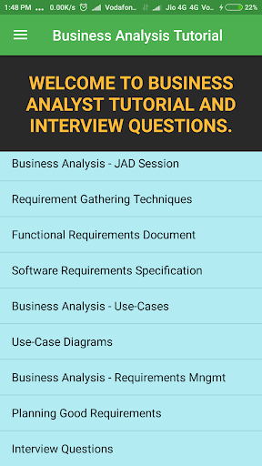 Download Business Analyst Tutorial & Interview Questions on PC & Mac